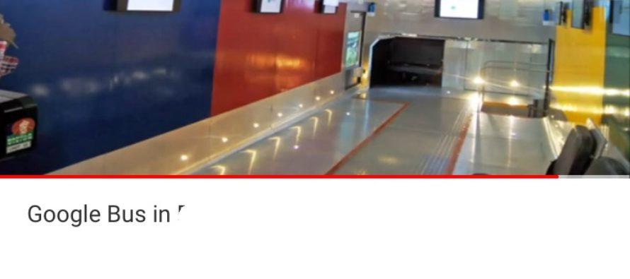 Google bus gaat voor het eerst rijden in Arnhem