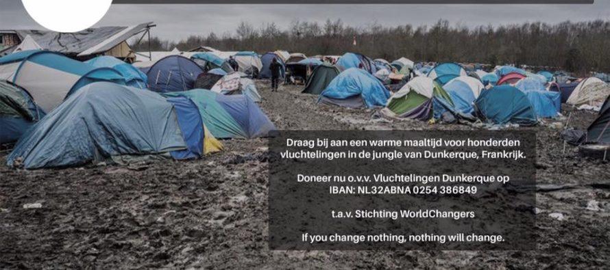 Damla uit Arnhem zamelt geld in voor vluchtelingen Dunkerque