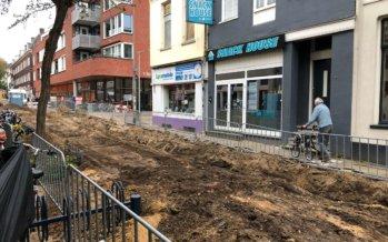'Gemeente irriteert bezoekers en ondernemers Spijkerlaan'