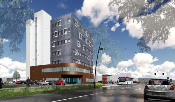 Autotelex en ABC Ergo huren 850 m² aan de Snelliusweg 1 in Arnhem