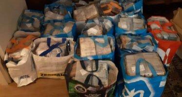 Man 'vergeet' 12,5 miljoen euro in boodschappentas