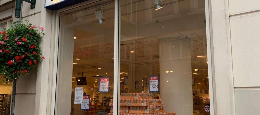 Bij 'Die Grenze' in Arnhem bizar veel producten over datum