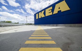 Oeps! Dat is minder leuk voor de klanten van IKEA Duiven