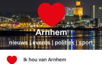 Ik Hou Van Arnhem nieuwspagina groeit als een kool