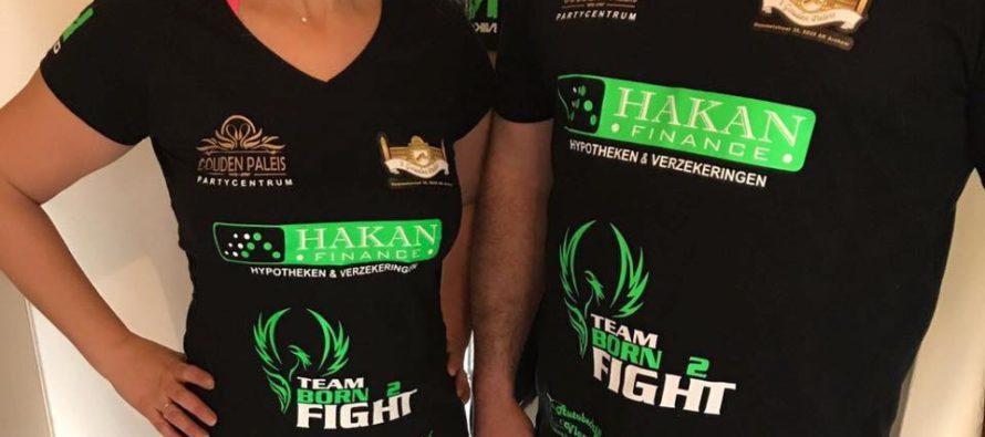 Team Born 2 Fight presenteert nieuwe wedstrijdoutfit