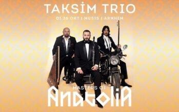 Wereldberoemde Taksim trio komt naar Musis in Arnhem