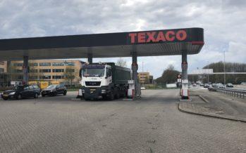Tankstation Texaco in Arnhem gaat binnenkort verdwijnen als merknaam