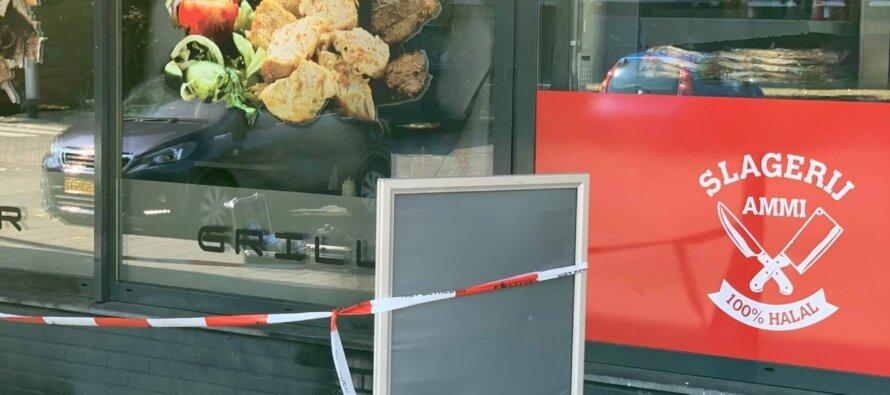 'Aanslag' met jerrycan op eetcafe Sofram