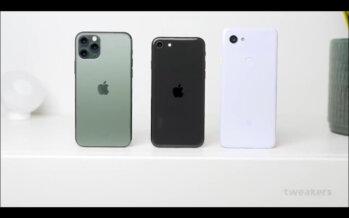 Waarom de iPhone SE zwaar tegen valt