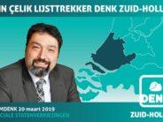 Oud PvdA'er Metin Çelik lijsttrekker DENK Zuid-Holland