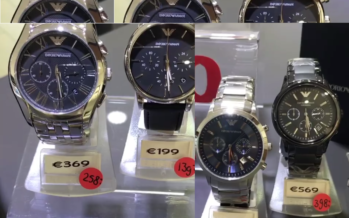 Juwelier in Arnhem stunt met Emporio Armani horloges voor Vaderdag
