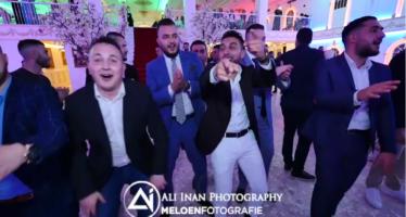 Prachtige beelden van Arnhemmers tijdens bruiloft Mehmet en Marokkaanse Ikram