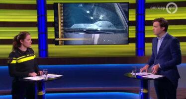 Schutter geeft 'boodschap' door met heftige beschieting Mercedes