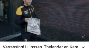 Spelersvrouwen sieren cover eerste Vitesse Magazine