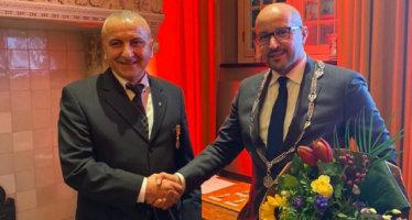 Koninklijke onderscheiding voor bekende lid vrijwillige brandweer Arnhem
