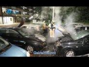 Arnhem heeft last van 'gekken' die auto's in brand steken