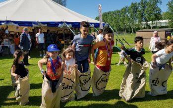 Henna Tattoos en kinderspellen tijdens sportfestival Elsweide