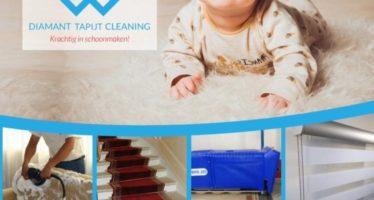 Speciaal bedrijf komt tapijten thuis ophalen om te reinigen