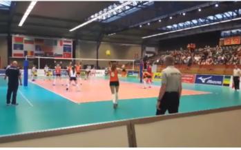 EK Volleybal in Arnhem: Krakers tussen Nederland, Turkije en Rusland