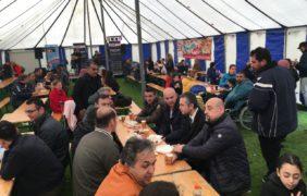 Topdrukte bij Elsweide tijdens sport-en cultuurfestival