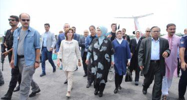 Turkse First Lady bezoekt Myanmar terwijl VN geen 'toegang' heeft tot Myanmar