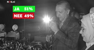 """BEELDEN Erdogan tegen voorzitter Europees Parlement: """"Wie ben jij lan?"""""""