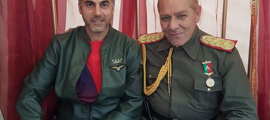 Bekende Gelderse Turk ontmoet Ataturk tijdens Turks Festival Arnhem