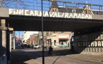 Traditie gaat gewoon door bij viaduct Hommelseweg