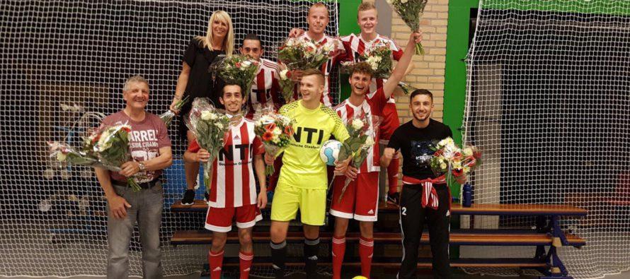 BEELDEN Dierense Boys zaal 1 kampioen na moeizame overwinning
