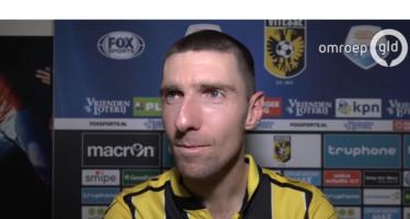 Kruiswijk verlengt en blijft nog twee jaar bij Vitesse