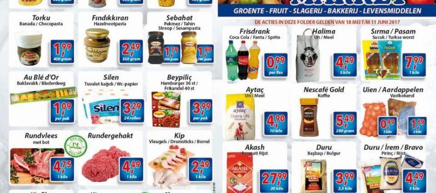 Turkse supermarkt komt weer met spotgoedkope aanbiedingen