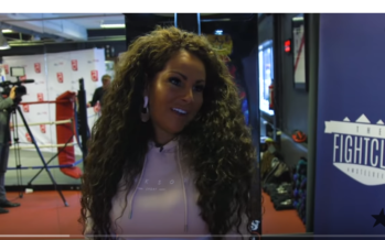 Arnhemse realityster Michella Kox is niet bang tijdens Boxing Stars