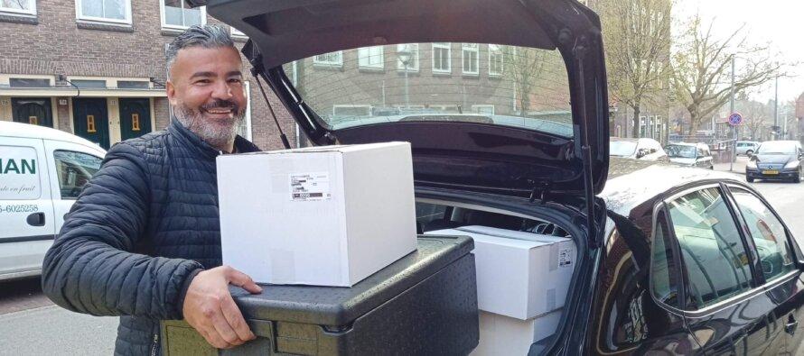 Mohammed Ouali op de bres voor vrijwilligerswerk