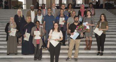 Arnhem verwelkomt 21 Nederlanders
