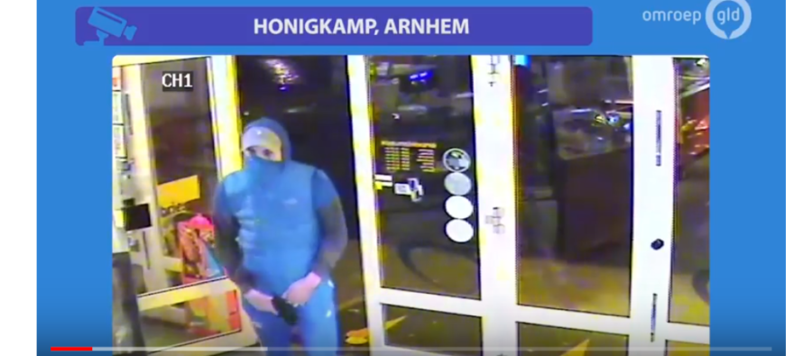 VIDEO Amateurovervaller probeert snackbar in Presikhaaf leeg te plunderen