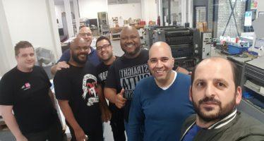 PromoSign krijgt bezoek van bekende Arnhemse ondernemer