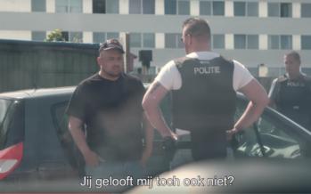 Beelden arrestatie Qucee en Nesim wegens coke op zak
