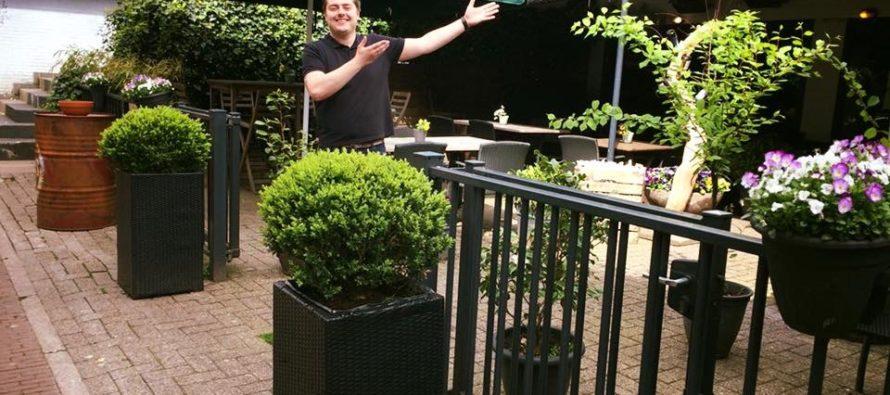 Rick Hartemink restauranteigenaar en chef-kok Bij Luthers