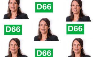Sabine Andeweg nieuwe lijsttrekker van D66 Arnhem
