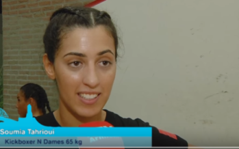 Arnhemse HBO student Soumia Tahrioui is een beest in de ring