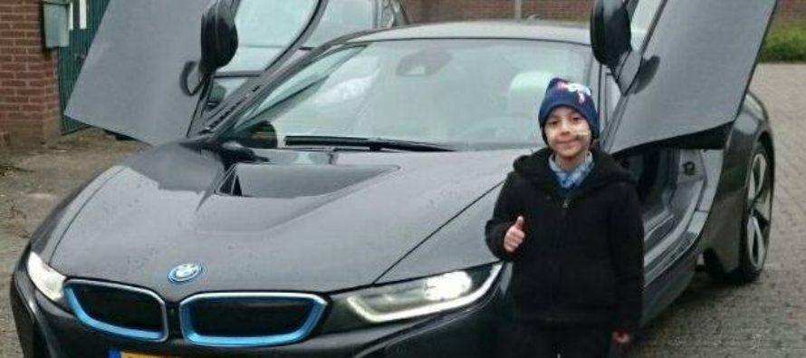 BMW Ekris uit Arnhem maakt droom waar van 7-jarige Yiğit