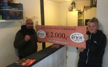 TVK Transport hoofdsponsor van prestigieuze kickbokstoernooi in Elst
