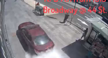 Schokkende nieuwe video laat ravage Times Square aanvaller zien