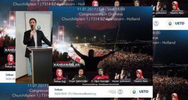 Bijzondere herdenkingsbijeenkomst in Apeldoorn over mislukte Turkse staatsgreep