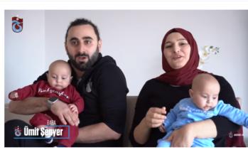 Arnhemse tweeling wereldberoemd na video Turkse Trabzonspor
