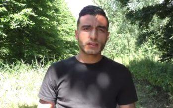VIDEO Soufiane Touzani over de situatie van zijn broeder Abdelhak Nouri aan IE-DER-EEN