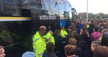 Vitesse spelers gaan vandaag met open bus door Arnhem rijden
