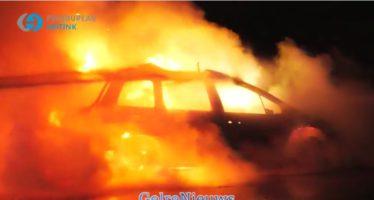 Zevende autobrand in Arnhem in een paar weken tijd