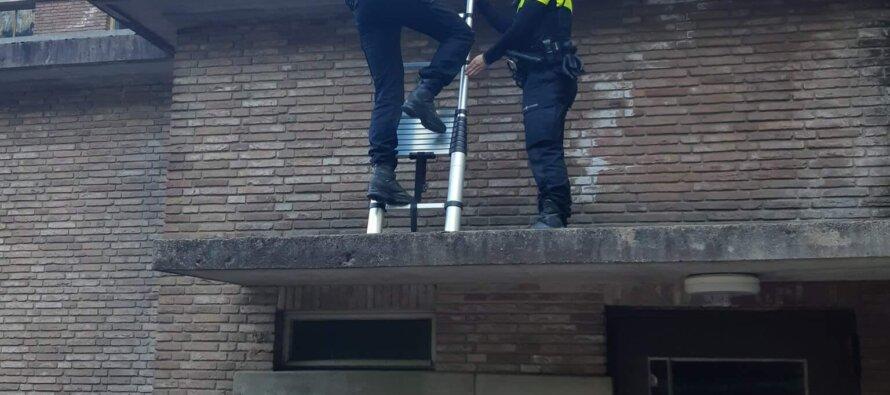 Aanhouding: Twee mannen 'vergeten' sporttas en gereedschap op dak
