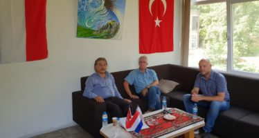 Fractie Arnhem Centraal in gesprek met HAYKEM-voorzitter Ibrahim Gunay